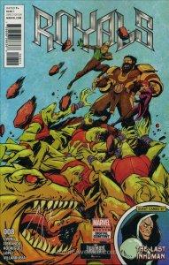 Royals (Marvel) #8 VF/NM; Marvel   save on shipping - details inside