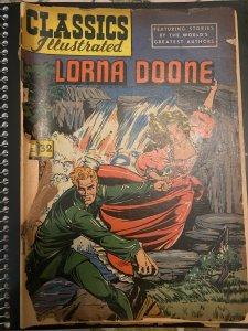 Classics Illustrated #32 (1946). Lorna Doone