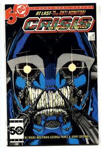 CRISIS ON INFINITE EARTHS #6 1st ANTI-MONITOR comic book 1985-DC