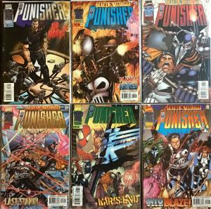PUNISHER (3RD SERIES 1996) MARVEL #13-18 SEE DESCRIPTION ALL NM CONDITION