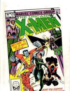 Uncanny X-Men # 171 NM Marvel Comic Book Wolverine Rogue Storm Cyclops JF15