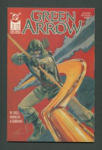 Green Arrow #3  / 7.5 VFN-  /  April 1988