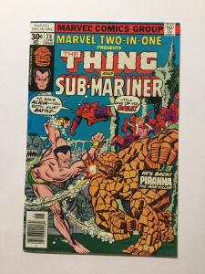 Marvel Two-In-One 28 Nm Near Mint