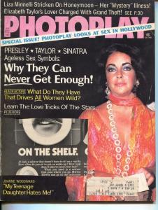 Photoplay-Liz Taylor-Joanne Woodward-Liza Minnelli-Alan Alda-Jan-1975