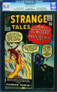 STRANGE TALES #110-CGC 4.0-FIRST DR. STRANGE-1963 - 0246147001