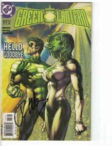 Green Lantern (3rd Series) #177 VF/NM signed by Ron Marz - DC Comics 2004