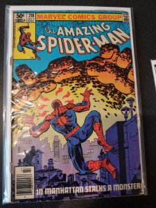 THE AMAZING SPIDER-MAN #218 VG+