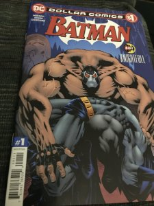 DC Batman KnightFall #497  Dollar Comics Mint