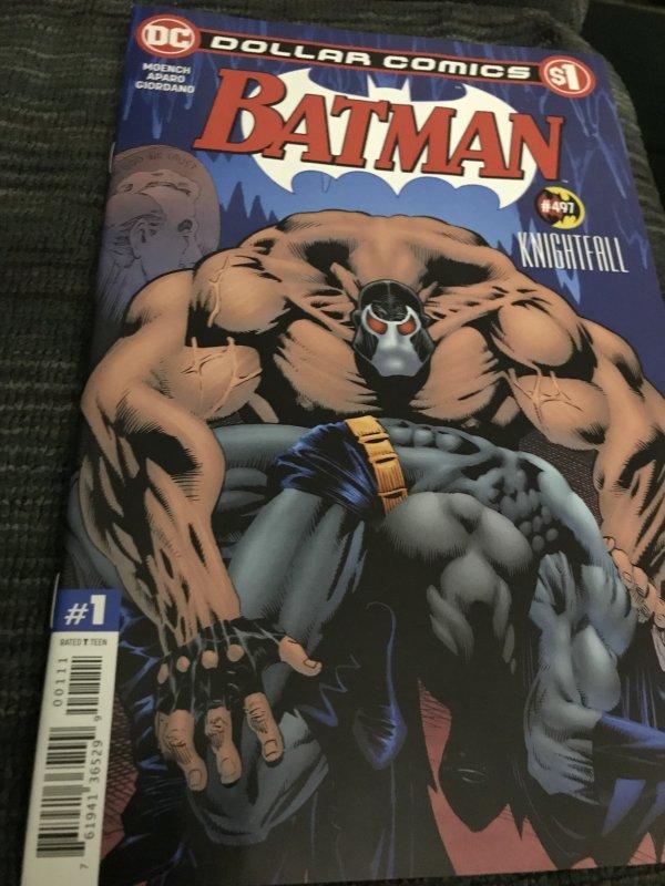 DC Batman KnightFall #497  Dollar Comics Mint