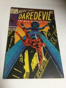 Daredevil 48 Vf Very Fine 8.0 Marvel Comics Printer Defect Silver Age