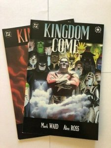LOT OF 2-DC Graphic Novel KINGDOME COME #3 Direct Variant  VERY FINE+ (PF955)