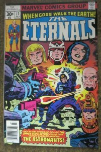 ETERNALS #13 (Marvel Comics,6/1977) FINE (F) First Gilgamesh! Sub. Crease