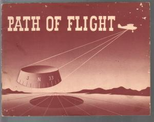Path Of Flight 1957-flying info-navigation aids-charts-illustrated-VG
