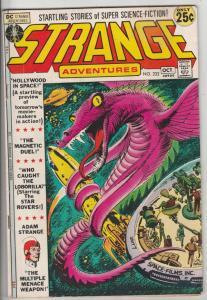 Strange Adventures #232 (Oct-71) FN Mid-Grade Adam Strange, Alana