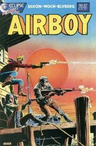 Airboy (1986 series) #37, NM + (Stock photo)