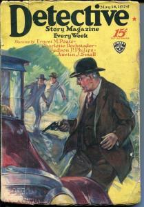 DETECTIVE STORY MAGAZINE-MAY 18 1929-PHILIPS-SMALL-DOCKSTADER-fair FR