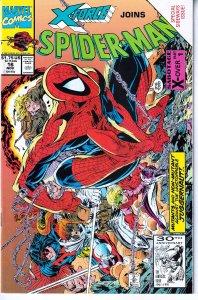 Spiderman(vol. 1)# 16  Spidey, X-Force, Juggernaut !