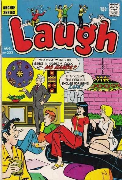 Laugh Comics #233, Fine (Stock photo)
