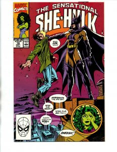 The Sensational She-Hulk #19 - 1st Nosferata - KEY - 1990 - NM