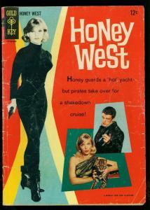 Honey West #1 1966- Anne Frances photo cover-Gold Key- G+