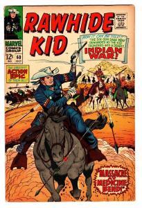 RAWHIDE KID #60 1967 MARVEL-DICK AYERS-HERB TRIMPE-AL KURZROK-INDIANS-FN