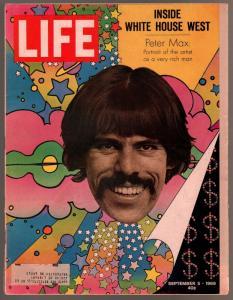 Life 9/5/1969-Peter Max-John D MacDonald-Save The Everglades-VG