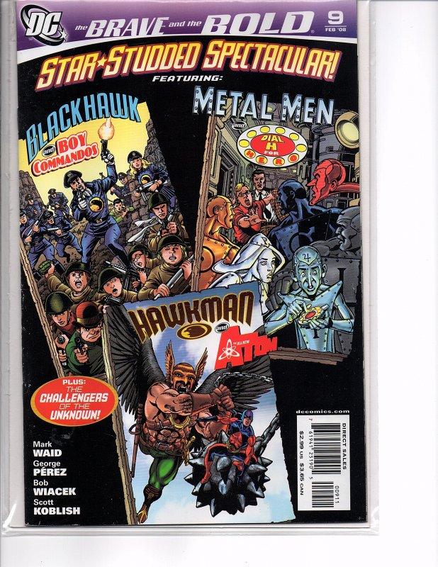 DC Comics Brave and the Bold #6, 7 & 9 Batman Green Lantern Wonder Woman