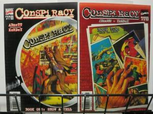 CONSPIRACY (1998 MARVEL) 1-2 Complete mini