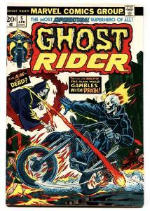 GHOST RIDER #5 comic book 1974-MARVEL-vf-