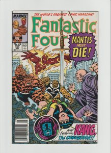 Fantastic Four #324 (1989) VF 8.0 Newsstand Edition!!