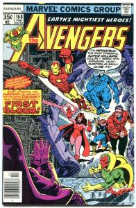Avengers #168 1978- Bronze Age Marvel- High grade VF