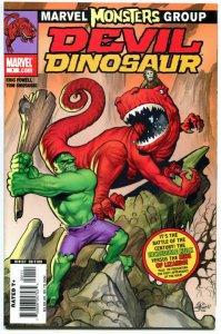 DEVIL DINOSAUR #1, NM, 2005, Eric Powell, vs HULK, Battle that time forgot