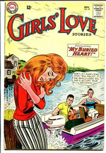 Girls' Love #99 1963 DC-speed boat cover-passion-heartbreak-VG