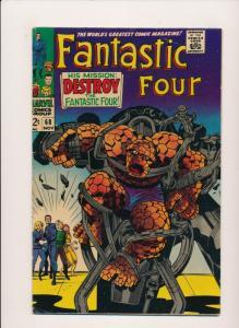 Marvel Comics Fantastic Four #68 (1967) ~ VG/Fine (PF159) Jack Kirby Art