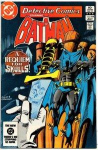DETECTIVE #528, VF, Batman, Requiem for Skulls, 1937 1983, more BM in store