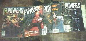 POWERS # 1  5 6 9 23 ICON 2004 + #1 IM,AGE