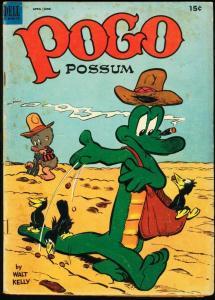 POGO POSSUM #12-1953-WALT KELLY-DELL G/VG