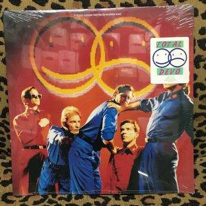 DEVO - TOTAL DEVO Sealed Vinyl - Rare! 1988 Enigma LP Akron Devo day