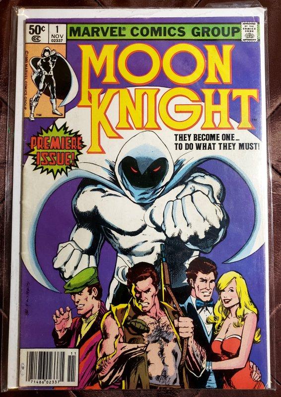 Moon Knight (AU) #1 (1980)
