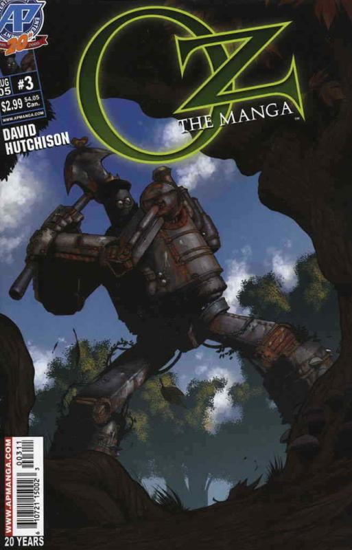 Oz: The Manga #3 VF/NM; Antarctic | save on shipping - details inside