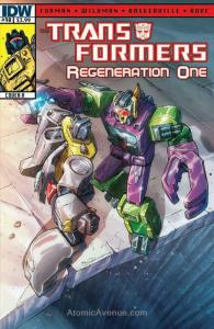 Transformers, The: Regeneration One #90A VF/NM; IDW | save on shipping - details