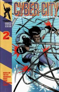 Cyber City: Part 1 #2 VF/NM; CPM | save on shipping - details inside
