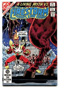 FURY OF FIRESTORM #6 1982-Masters of the Universe preview!-DC comic book
