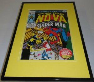 Nova #12 Framed 11x17 Cover Display Official Repro Spider-man