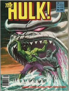 Rampaging Hulk #22 (1977 Magazine) VF