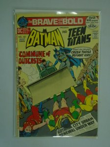 Brave and the Bold #102 3.5 VG- water damage (1972 1st Series)