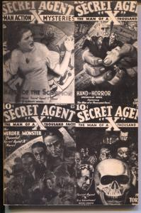 Pulp Classics #22 1980-Weinberg-History of Secret Agent X-story synopsis-FN