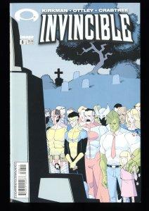 Invincible #8 NM 9.4