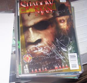Shadowman comic #1  (Mar 1997, Acclaim / Valiant) garth ennis vol 2 mature reade