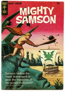 Mighty Samson 4 Dec 1965 VG+ (4.5) Qualified